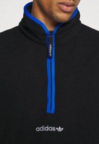 adidas Originals - ADIDAS ADVENTURE POLAR FLEECE HALF-ZIP SWEATSHIRT - Forro polar - black - 7
