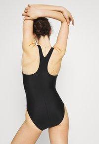 Speedo - BOOM LOGO  - Swimsuit - black/blue - 4