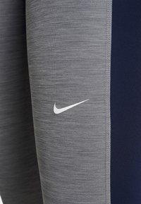 Nike Performance - Punčochy - smoke grey heather/obsidian/white - 5