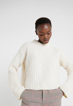 NOSEMA - Strickpullover - soft white