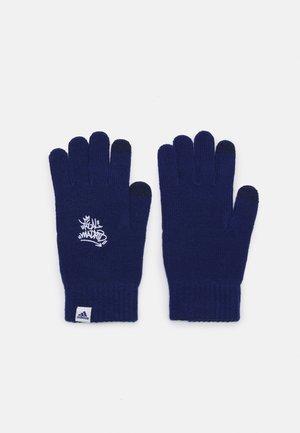 REAL MADRID GLOVES UNISEX - Gloves - victory blue/white