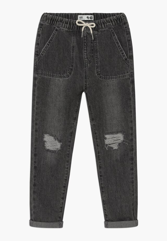 DARIA SLOUCH - Straight leg jeans - grey