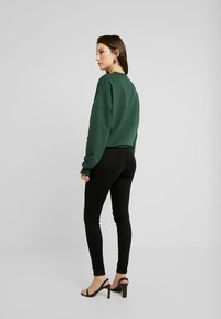 Missguided - VICE FRONT - Jeans Skinny Fit - black coated - 2