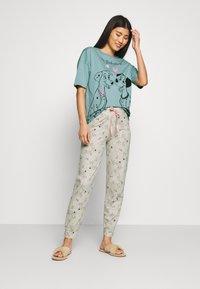 Marks & Spencer London - DALMATIANS - Pyjama - aqua mix - 1