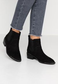 JETTE - Kotníková obuv - black - 0