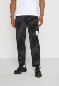Blood Brother - PALOS PARK CULOT TROUSERS UNISEX - Trousers - black - 0