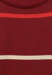 Cecil - MIT STREIFEN - Print T-shirt - braun - 4