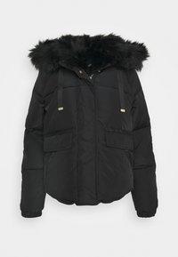 River Island - CHUBBY PUFFER - Winter jacket - black - 0
