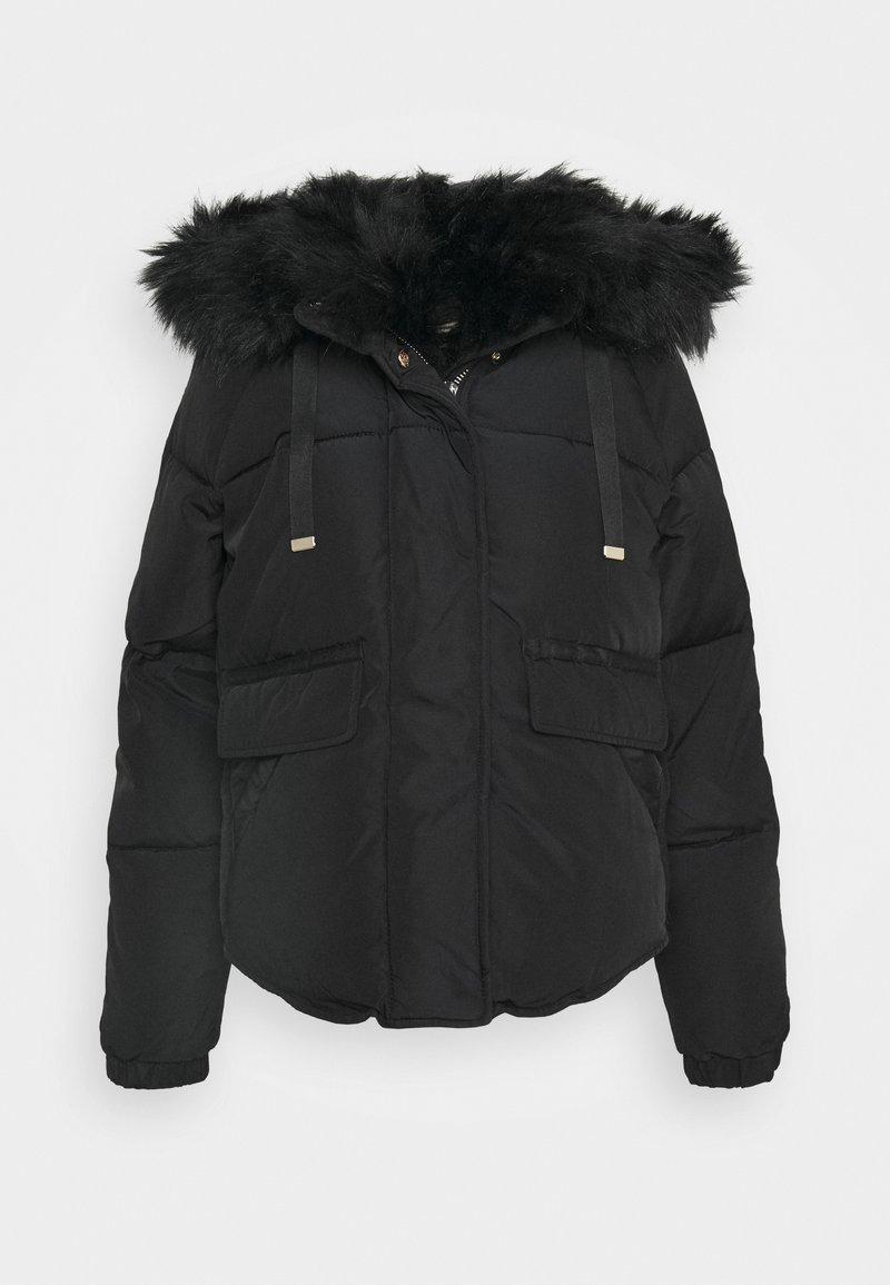 River Island - CHUBBY PUFFER - Winter jacket - black