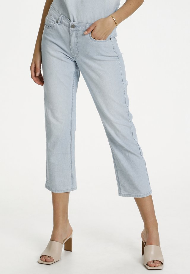 Jeans a sigaretta - light blue wash