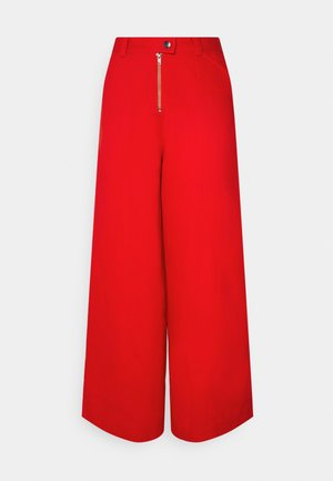 TYLER PANTS - Flared Jeans - red