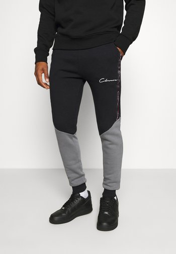 CONTRAST JOGGER WITH TAPING