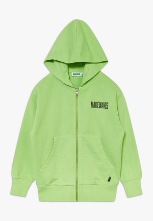 MOK - Mikina na zip - green flash