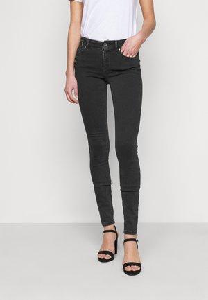 ONLCARMEN LIFE ZIP - Jeans Skinny Fit - black