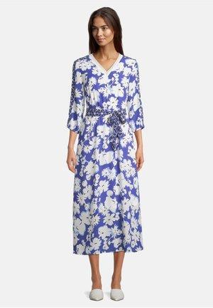 Robe d'été - blau/weiß