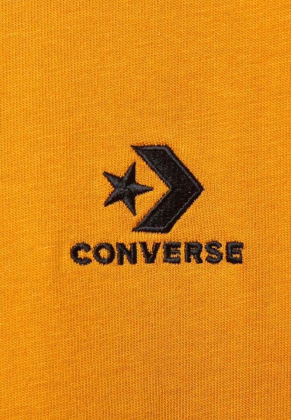 Converse MENS STAR TEE - T-shirt basic - saffron yellow/ciemnożÓłty Odzież Męska DIRG