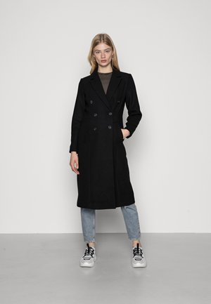 VMCLASSOLIVIA LONG JACKET - Klasický kabát - black