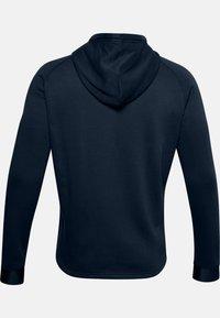 Under Armour - Zip-up hoodie - academy - 4