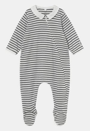 DORS BIEN UNISEX - Sleep suit - marshmallow/smoking