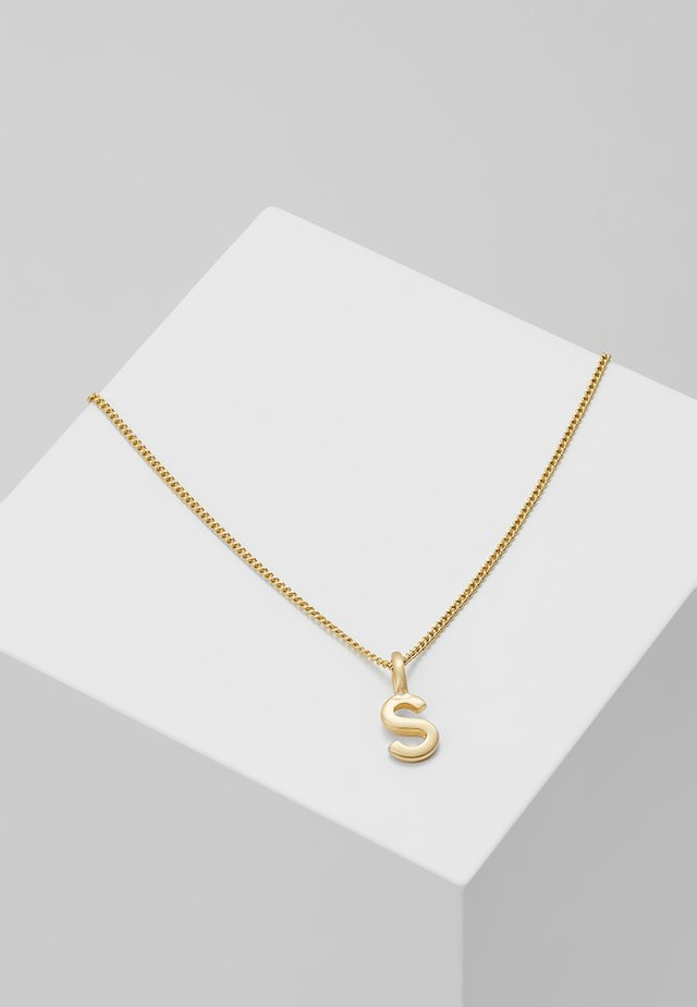 NECKLACE S - Halsband - gold-coloured