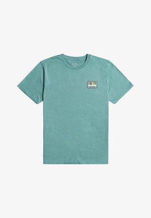 WALLED  - Print T-shirt - light marine