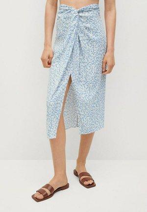 A-line skirt - hemelsblauw