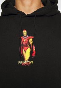 Primitive - IRON MAN HOOD - Hoodie - black - 7