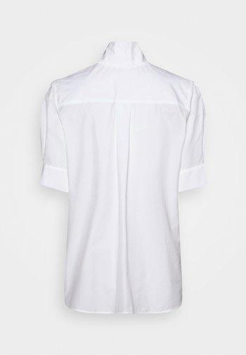 KURZARM - Button-down blouse - weiß