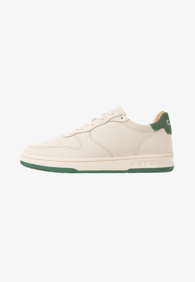 MALONE - Trainers - cream/olive