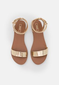 ONLY SHOES - ONLMELLY CHAIN  - Sandals - gold - 5