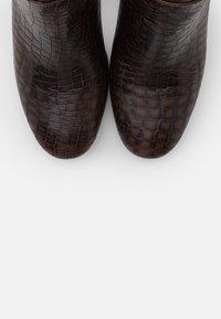 Kanna - AGATA - Vysoká obuv - testa di moro - 5