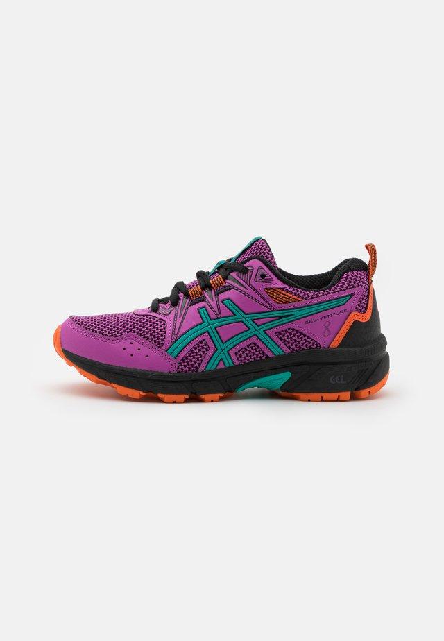 GEL-VENTURE 8 UNISEX - Trail running shoes - digital grape/baltic jewel