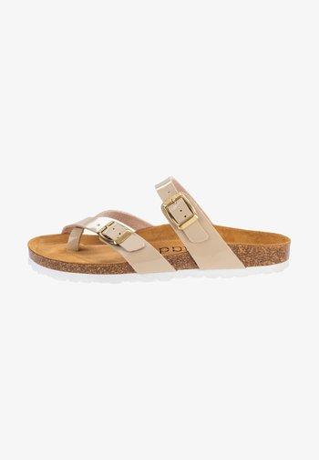 T-bar sandals - cream