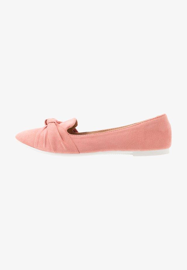 BARCELONA - Slip-ons - pale pink