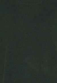 Anna Field - LONG LINE JUMPER - Strikkegenser - dark green - 2