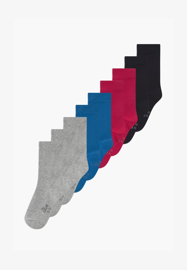 ONLINE JUNIOR ORIGINAL UNISEX 9 PACK  - Socks - nautical blue