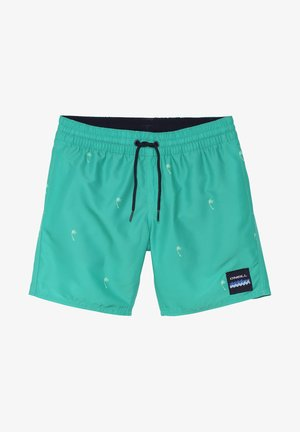 Swimming shorts - mottled green