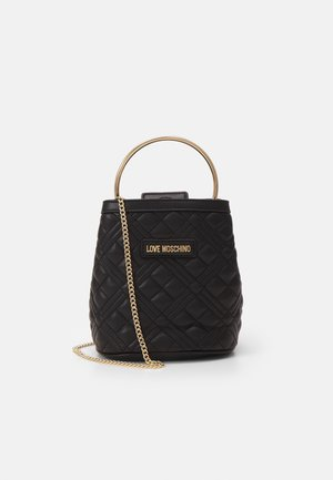 QUILTED SOFT - Handtas - nero