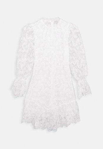 WHITE GEORGIA MINI DRESS - Kjole - white