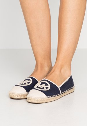 EXCLUSIVE REY  - Espadrillos - navy/light cream