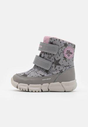 FLEXYPER GIRL ABX - Bottes de neige - grey/pink