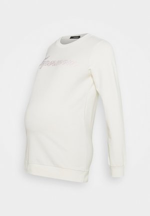 SUPERMOM - Sweatshirt - marshmallow