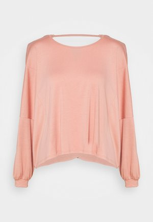 Topper langermet - blush