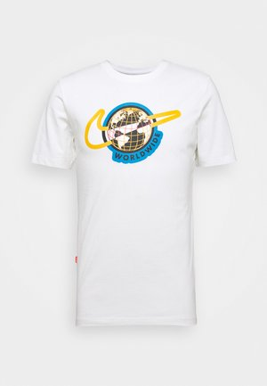 TEE WORLDWIDE - T-shirt imprimé - white