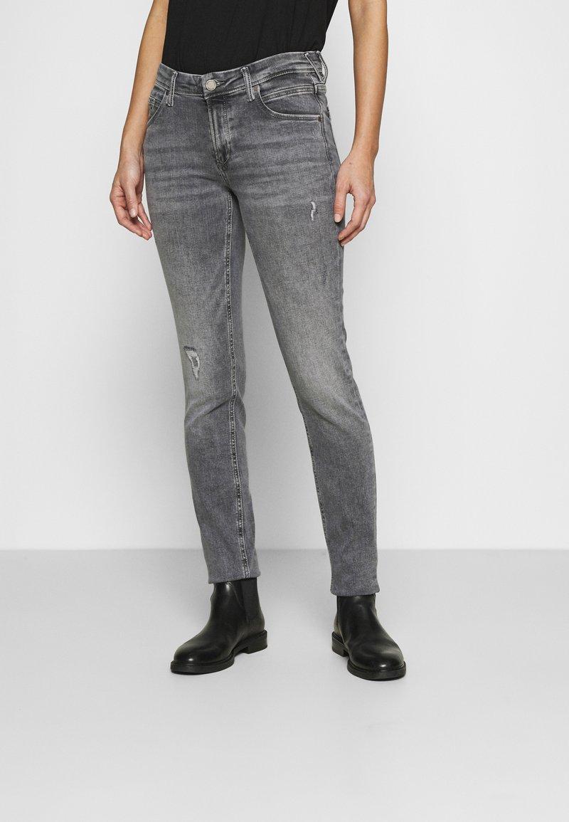 Marc O'Polo DENIM - ALVA REGULAR - Slim fit jeans - multi/pigeon mid grey