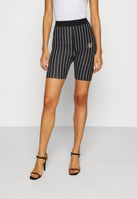 SIKSILK - BASEBALL STRIPE CYCLE - Shorts - black - 0
