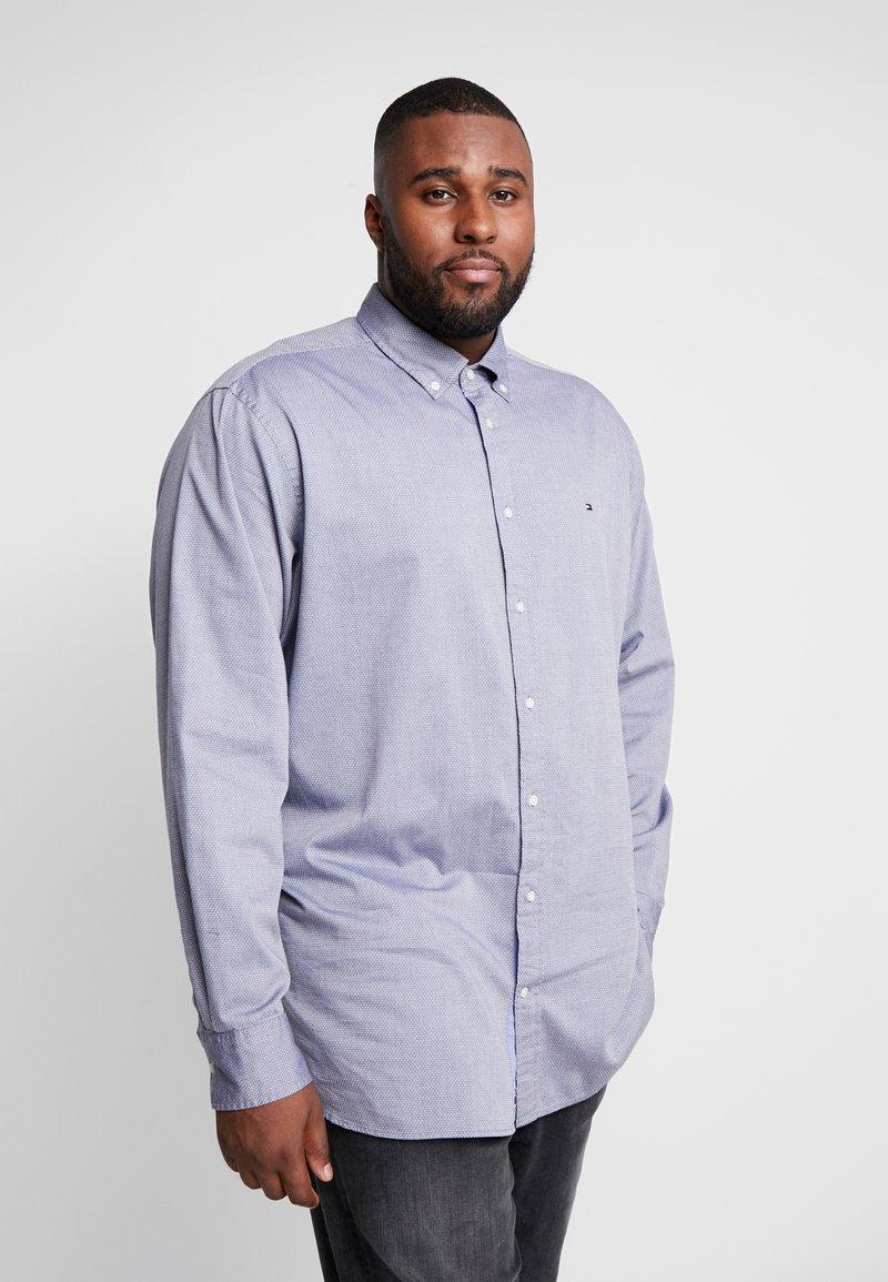 Tommy Hilfiger - FLEX DOBBY SHIRT REGULAR FIT - Shirt - blue