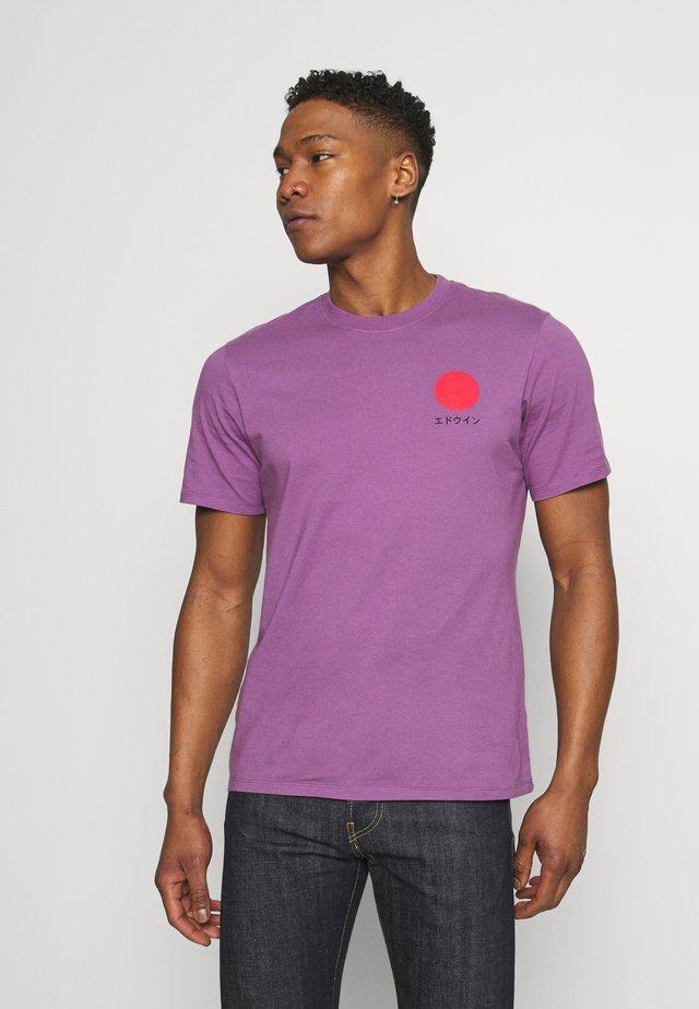 JAPANESE SUN UNIAWY - T-shirt imprimé - purple