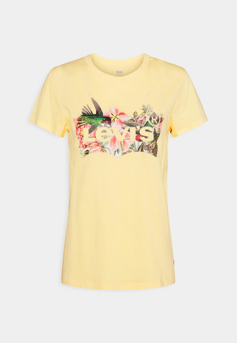 Levi's® - THE PERFECT TEE - Print T-shirt - batwing fill hummingbird golden haze