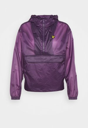 RIPSTOP OVER HEAD JACKET - Training jacket - dark thistle